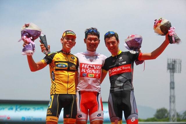 Eric Sheppard finishes on podium for second straight day, caps off superb Tour de Korea for OCBC Singapore Pro Cycling Team
