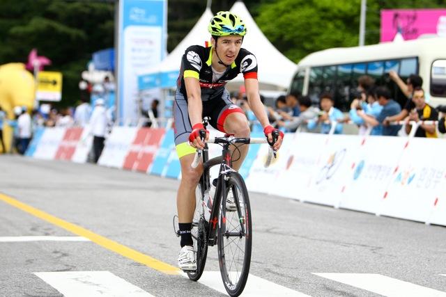 Eric Sheppard captures second place at Tour de Korea for OCBC Singapore Pro Cycling Team's sixth podium finish this season