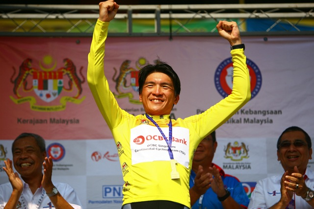 Loh Sea Keong retains yellow jersey, continues to lead General Classification at Jelajah Malaysia